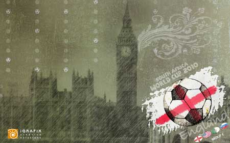 World Cup 2010 - Wallpaper England