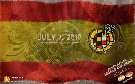 World Cup 2010 - Spain SF