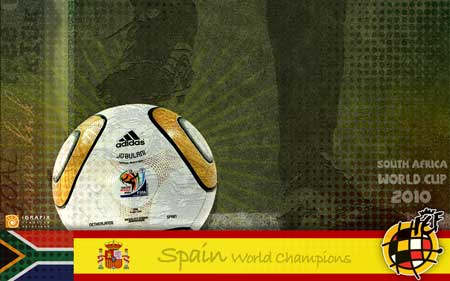 World Cup 2010 - World Champions Spain