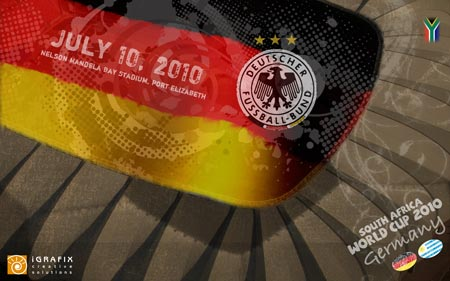 World Cup 2010 - Germany 3