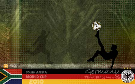 World Cup 2010 - Germany 3rd Place Winner
