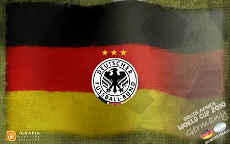 World Cup 2010 - Germany QF