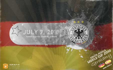 World Cup 2010 - Germany SF