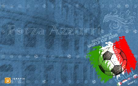 World Cup 2010 - Wallpaper Italy