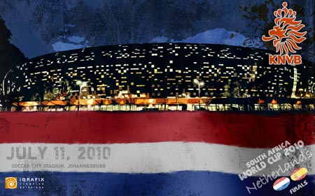 World Cup 2010 - Netherlands Final