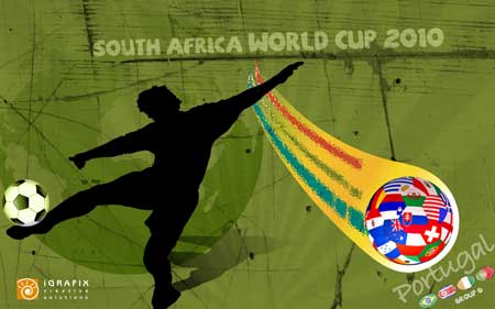 World Cup 2010 - Wallpaper Portugal