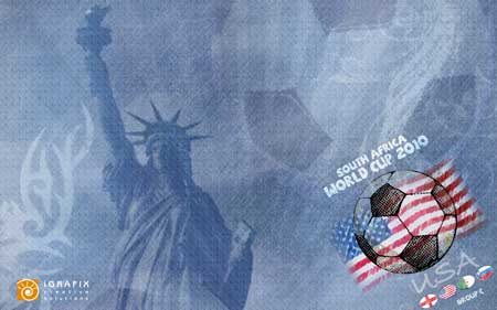 World Cup 2010 - Wallpaper USA